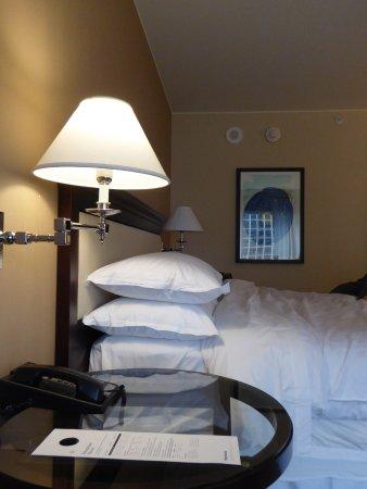 Sheraton Seattle Hotel: 舒適的枕頭