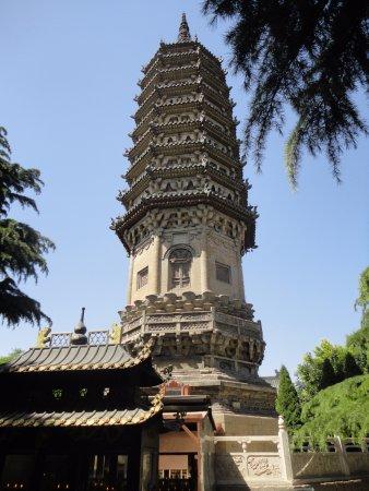Zhengding County, Chine : The Chenglin Pagoda
