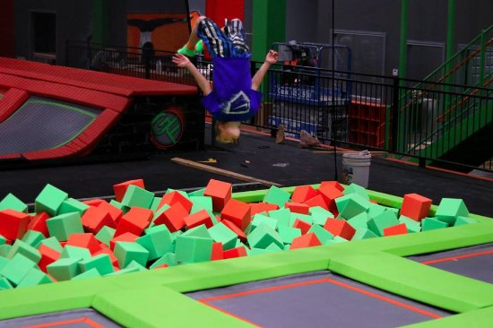 Rexburg, ID: High performance trampolines, foam pits &  Ninja Warrior Course