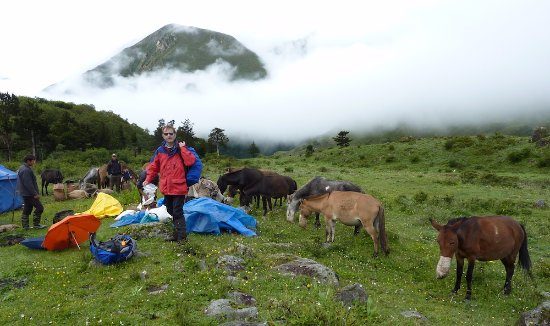 On A Druk Path Trek In Bhutan Trekking Between Mountains Of Paro