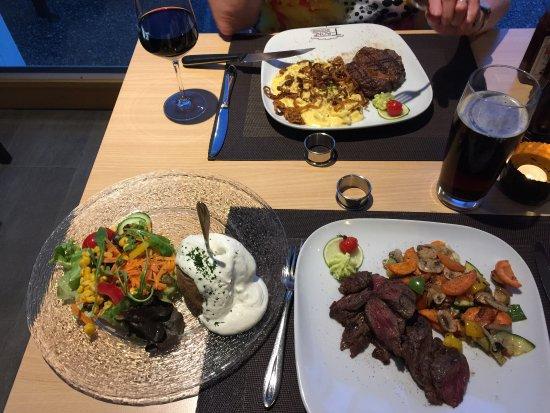 Haar, Deutschland: The Hanging steak