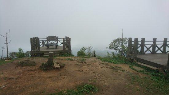 Keelung, Taïwan : 山頂平台三角點