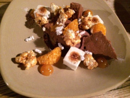 Kumeu, Yeni Zelanda: Chocolate dessert