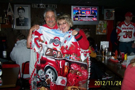 Massillon, OH: Mike and Diane under the blanket