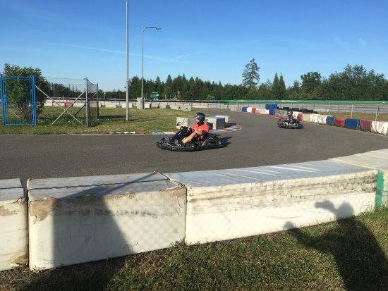 Brno, Çek Cumhuriyeti: Track test .... With bike