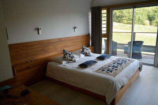 betikure parc lodge chambre 2 personnes avec lit queen size et terrasse - Lit Queen Size