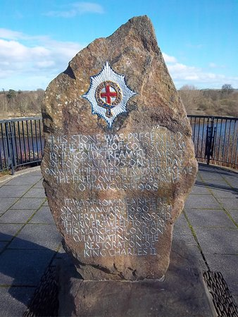 Колдстрим, UK: Coldstream Guards Memorial Stone