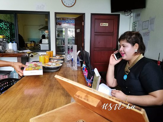 Ms. Phawi the courteous, smiley and friendly resort staff