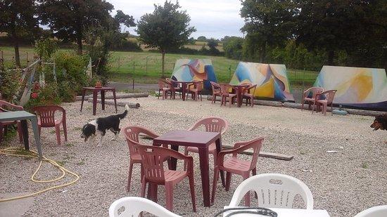 Charente, Frankrike: Nice terrace