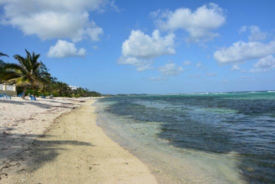Bodden Town, Gran Caimán: Beach facing east