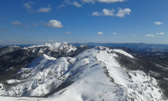 Cavle, Kroasia: Platak area is beautiful mountain sports resort. where mountain and mediterranean climate mix.