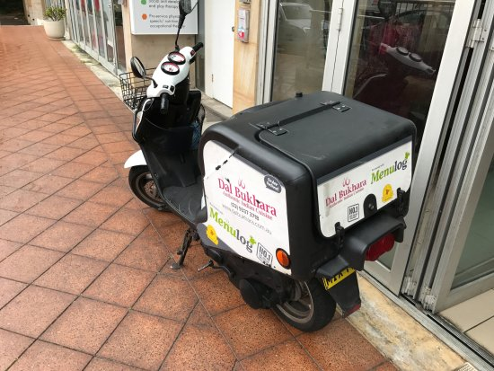 Rose Bay, Australia: Scooter used for Home delivery