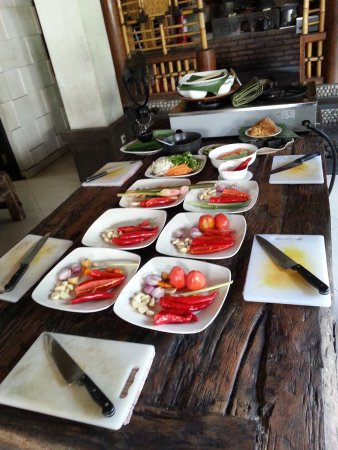 Τουμπάν, Ινδονησία: Cooking class