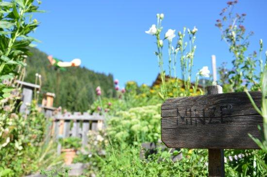Kleinarl, Austria: Kräutergarten
