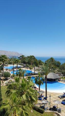 Hotel SH Villa Gadea: Blick gen Calpe