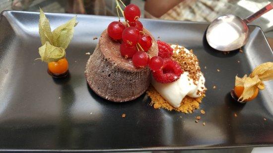Castell de Castells, España: Subliem dessert