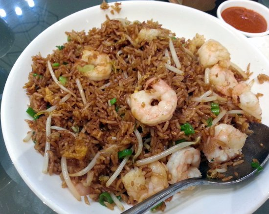 Rolling Meadows, IL: shrimp fried rice
