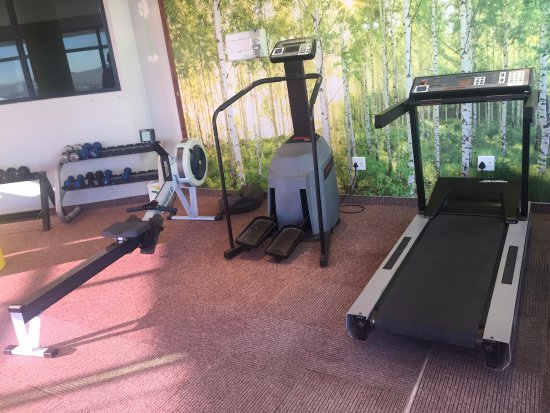 Aquarius Luxury Suites: The Gym