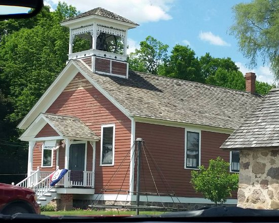 Wittenberg, WI: Nueske's maintains an old school house on their grounds.