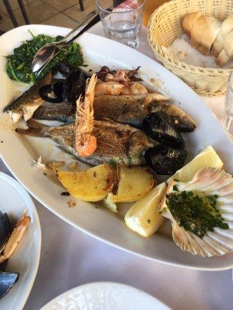 Konoba Istriana : grillowane dary morza
