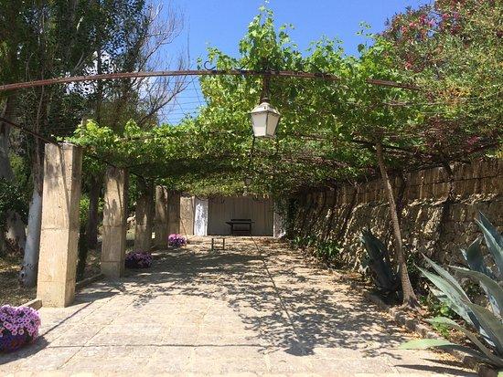 Esporles, Spanien: Eén van de vele mooie plekjes op het domein.