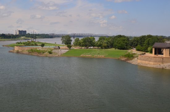 Mississippi River Museum at Mud Island: View from the Monorail