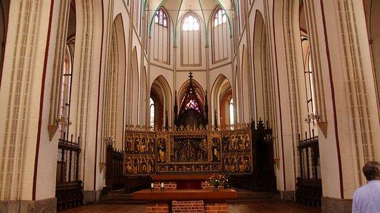 Schwerin, Germania: Blick auf den Altar