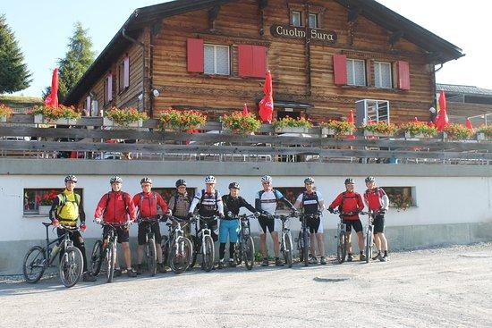 Obersaxen, Sveits: Bike Hotel