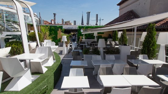 Restaurante gymage lounge resort en madrid con cocina - Hotel mediterranea madrid ...