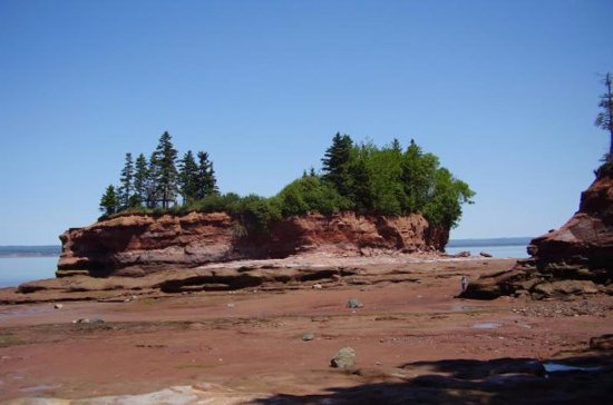Five Islands, Canada: bay of fundy