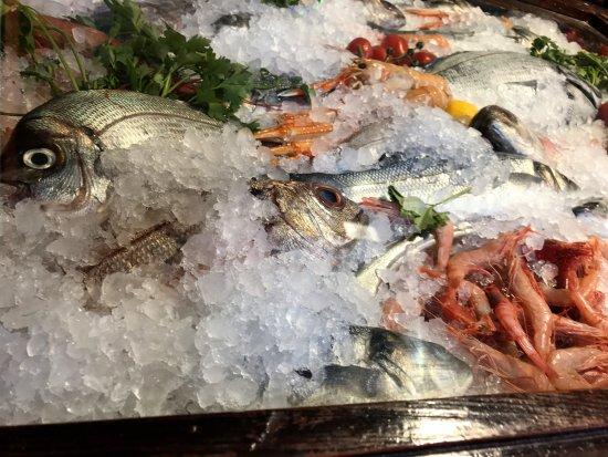 PizziCotto Pizzeria Ristorante: pesce sempre fresco