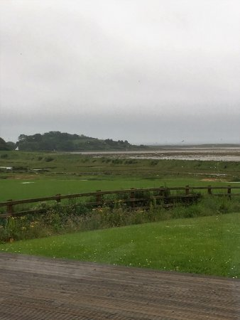 Greyabbey, UK: even a grey wet day the view is delighful