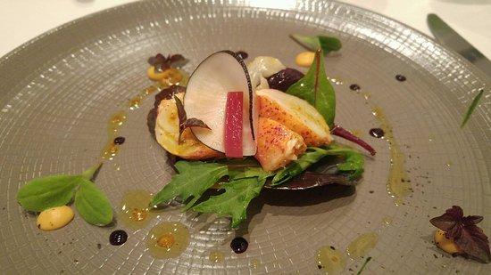 Gill: Tacos de homard au shiso
