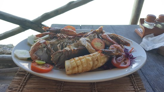 Coral Rock Restaurant: fruit de mer