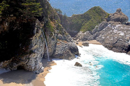 Julia Pfeiffer Burns State Park: McWay Falls #1