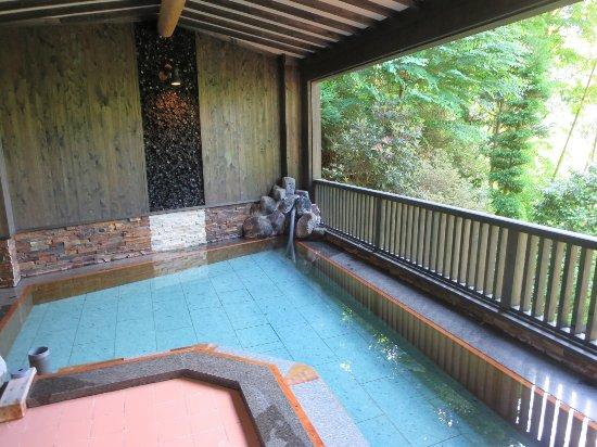 Inarikan : 露天風呂 気持ちよかったです