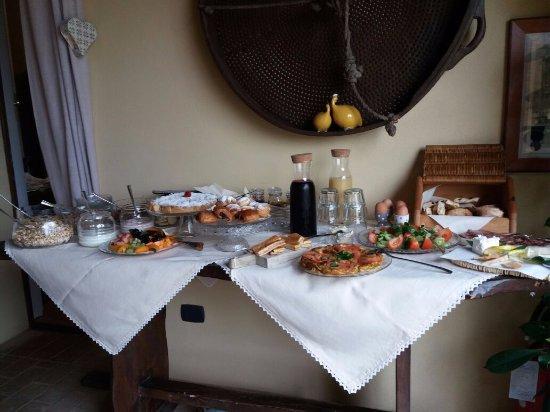 L'Orto di Panza: ארוחת הבוקר