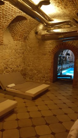 Hotel Copernicus: Spa treatment room