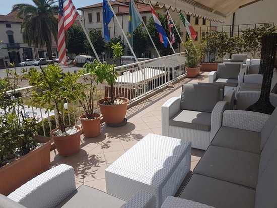 Park Hotel Moderno : la nostra veranda