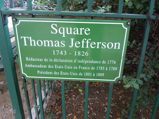 ‪Square Thomas Jefferson‬