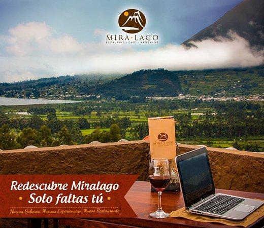 San Pablo Del Lago, Ecuador: El mejor servicio,  junto a la mejor vista de Imbabura!
