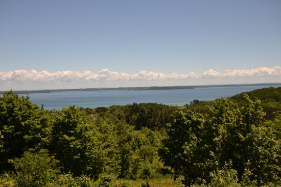 Suttons Bay, MI: the view from the deck