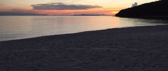 Lipa Noi, Thailand: Baan kilee beach at sun set
