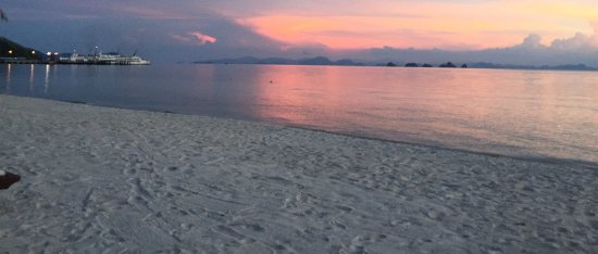 Lipa Noi, Thailandia: Baan kilee beach at sun set