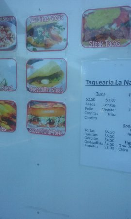 Shelbyville, KY: menu