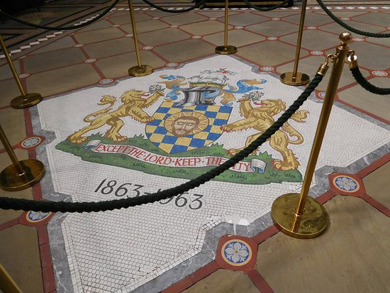 แฮลิแฟกซ์, UK: The floor of the main hall