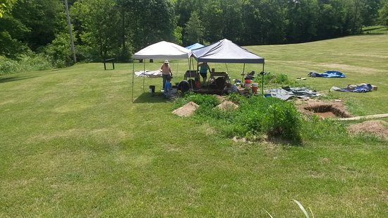 Camp Nelson Civil War Heritage Park: Camp Nelson Dig 06-10-2017