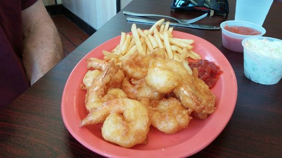 Fairfax County, VA: Shrimp and chips