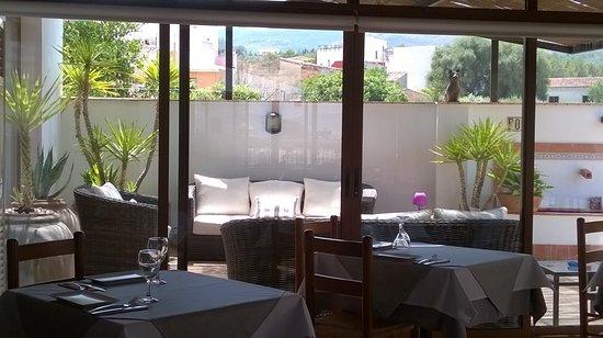 Benissoda, España: Comedor terraza