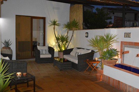 Benissoda, España: Rincon terraza